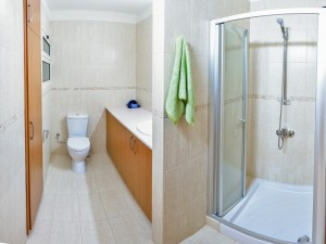 3-спальная квартира в комплексе Aristo Paradise - душевая комната