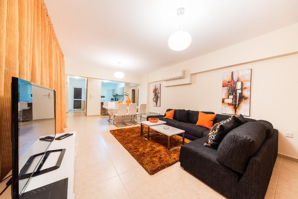 3-спальная квартира в комплексе Aristo Paradise - гостиная