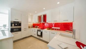 3-спальная квартира класса «Люкс» в комплексе «Azur Residence» - кухня