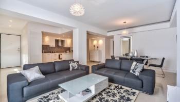 3-спальная квартира класса «люкс» в комплексе «Azur Residence» - гостиная