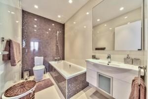 3-спальная квартира класса люкс в комплексе Azur Residence - ванная комната