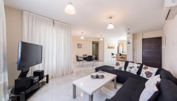 2-спальная квартира Cybarco Amathusia Coastal Heights - гостиная
