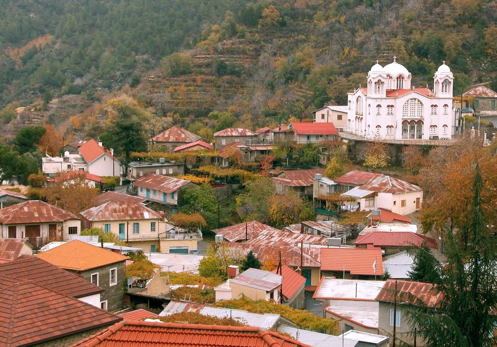 Горная деревня Pedoulas