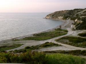 Пляж курорта Aphrodite Hills