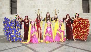 Арабские танцы - танцевальное шоу