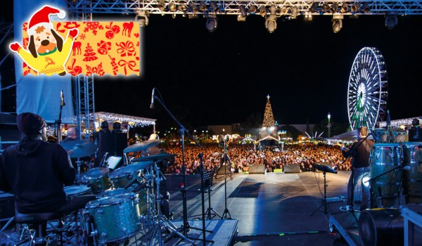 Концерт греческих рок-групп в Лимассоле