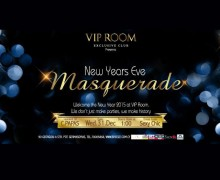 Новогодняя маскарад вечеринка в VIP Room