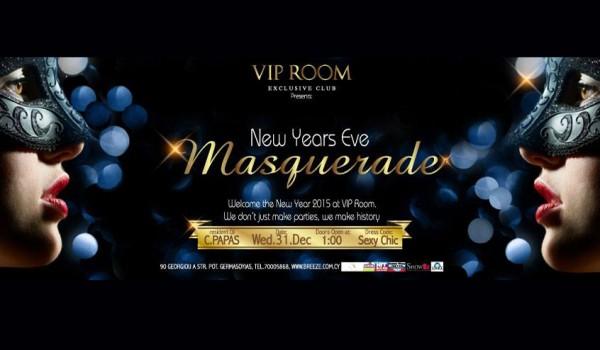 Новогодняя маскарад-вечеринка в VIP Room