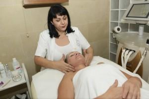 Косметическая процедура в Vita SPA