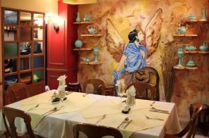 Интерьер персидского ресторана Ilia