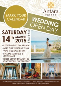Свадебный день открытых дверей в Antara Palace