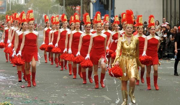 Въезд короля карнавала в Лимассол
