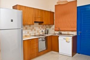 2-спальный мезонет в центре туристической зоны Лимассола - кухня