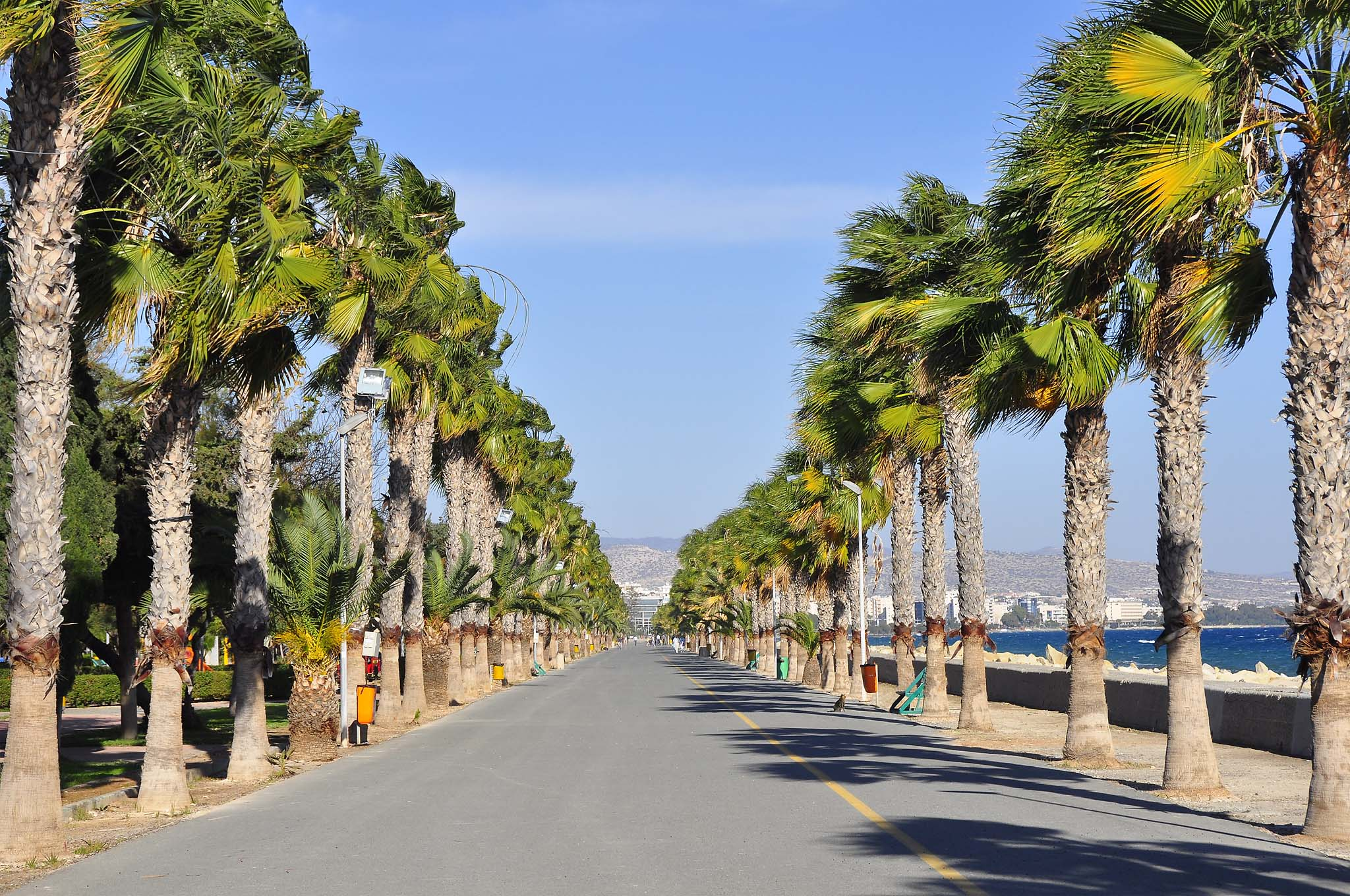 Limassol's seafront promenade