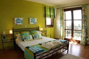 Вилла Paparouna - спальня