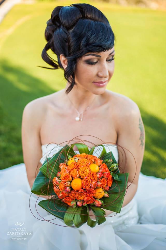 Цветочный бутик Vite Flower Creations - букет невесты