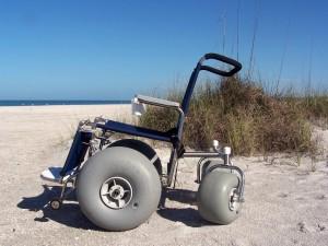 Специальное кресло для пляжа