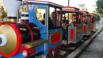 Путешествие на детском поезде по Лимассолу