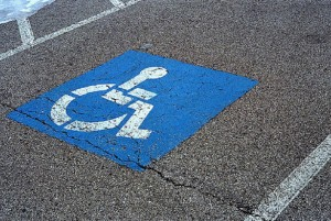 Parking for people with disabilities
