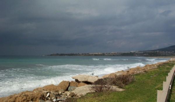 Метеорологическая служба Кипра предупреждает о шторме