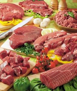 Супермаркеты Carrefour - мясной отдел
