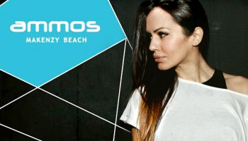 Deborah De Luca в Ammos Beach Bar
