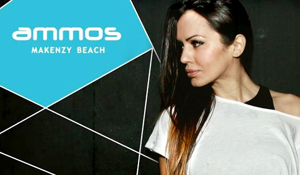 Диджей Deborah De Luca в Ammos Beach Bar