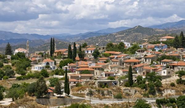Деревни Кипра: Като Дрис