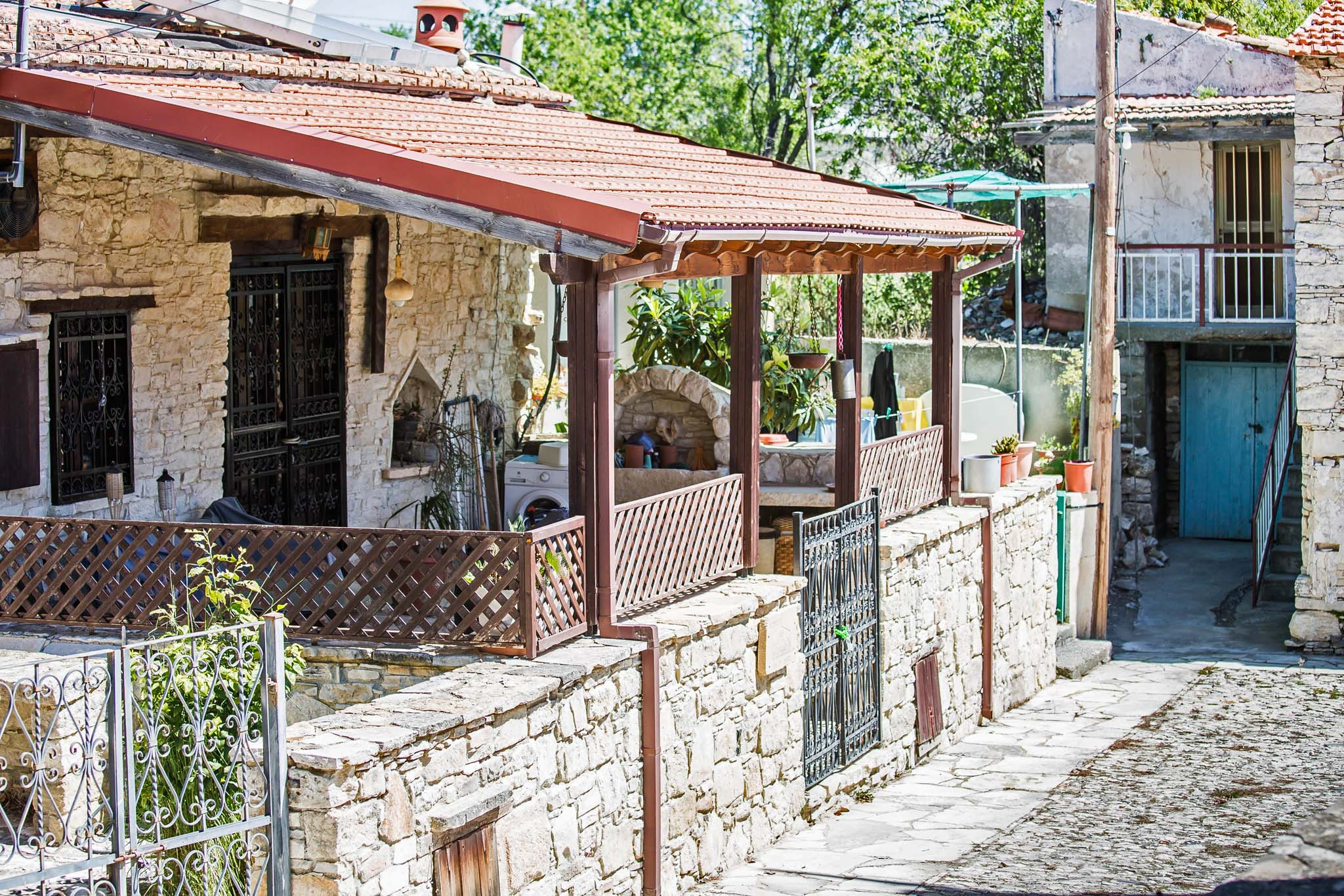 Деревня Силику