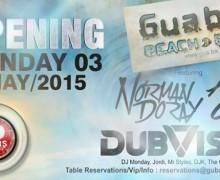 Открытие Guaba Beach Bar