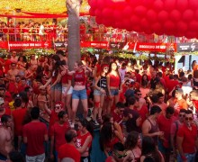 Вечеринка Red Sunday в Guaba Beach Bar