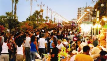 Фестиваль воды в Ларнаке