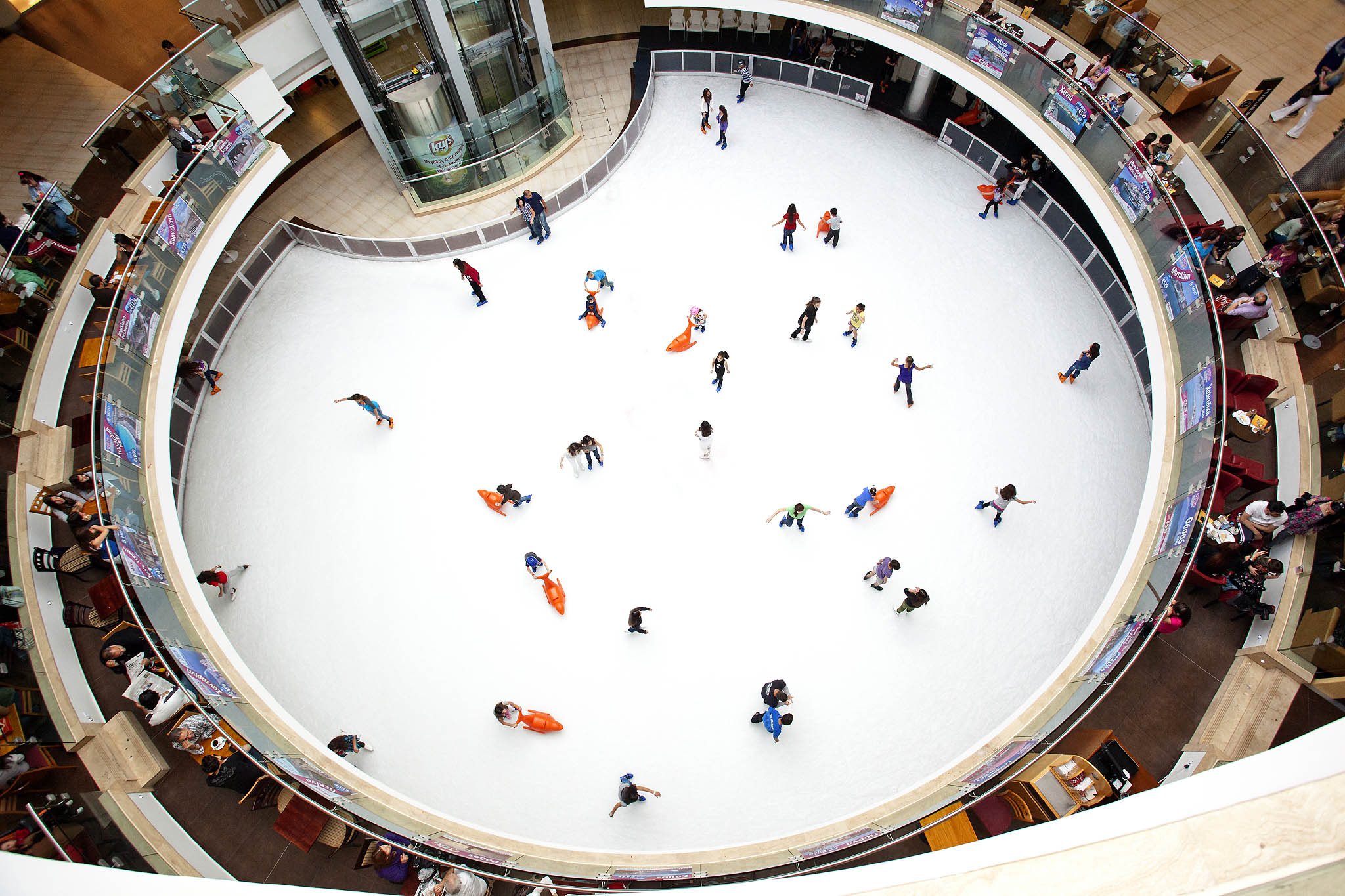 Ледовый каток Onice.gr