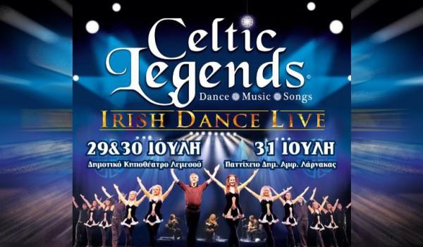 «Кельтские легенды» — музыкально-танцевальное шоу в Лимассоле и Ларнаке