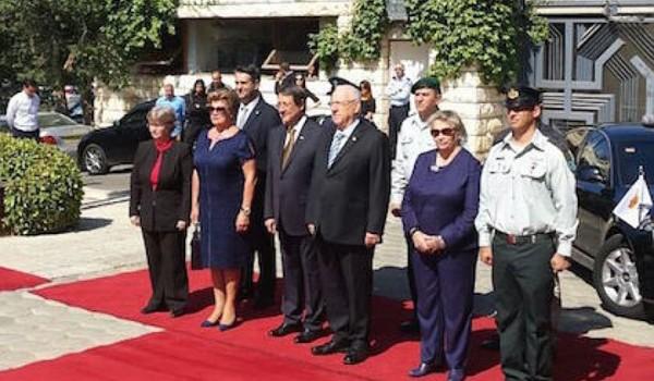 Встреча президентов Кипра и Израиля