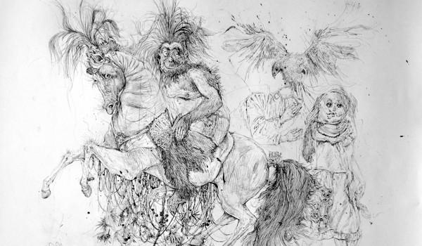 «Tera-Genesis: новые рисунки» — выставка художника Аршака Саркисяна