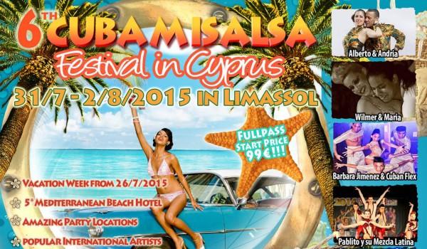6-й фестиваль CubaMiSalsa