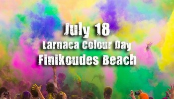 Фестиваль красок в Ларнаке
