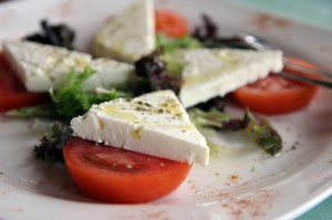 feta with tomatoes