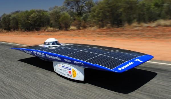 Гонки на электромобилях на солнечных батареях