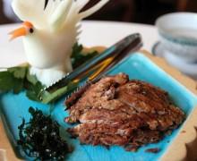 Утка по пекински в ресторане Xiang Cong