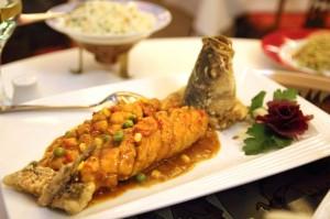 Рыба в ресторане Xiang Cong