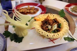 Мясо в ресторане Xiang Cong