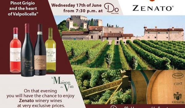 Вечер вин Zenato в Do Wine & Dine