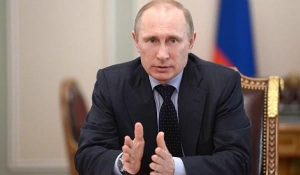 Российские парламентарии обратились к президенту РФ Владимиру Путину