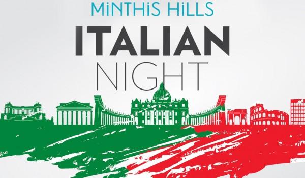Итальянская ночь — ужин в Minthis Hills