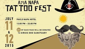 Tату-фестиваль в Айя Напе