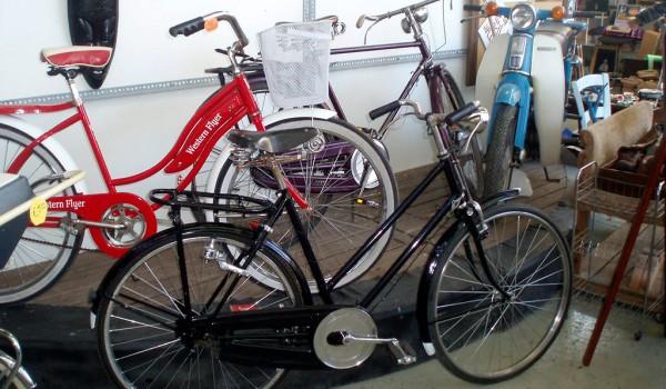 Ярмарка подержанных велосипедов и мотороллеров