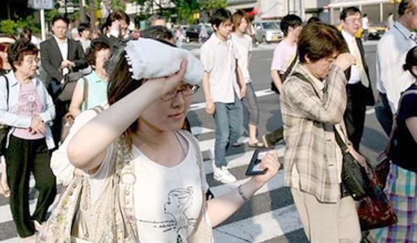 В Японии из-за жары погибли 2 человека