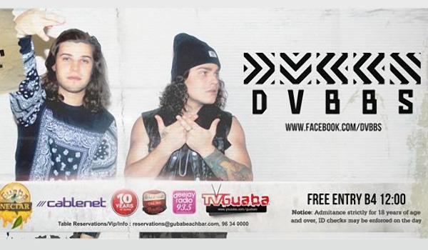 DVBBS в Guaba Beach Bar